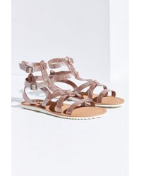 e45dce999771 Lyst - Circus by Sam Edelman Selma Jelly Gladiator Sandals in Pink