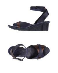 Trippen | Blue Sandals | Lyst