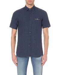 f067c4826a5 Lyst - DIESEL S-emiko Regular-fit Denim Shirt in Blue for Men