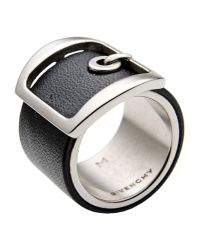 Givenchy - Black Ring - Lyst