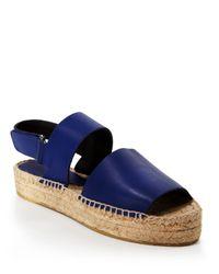Vince - Natural Platform Espadrille Sandals - Emilia - Lyst