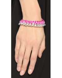 Aurelie Bidermann - Purple Do Brasil Bracelet - Lyst
