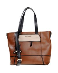 Mugler | Brown Handbag | Lyst