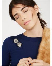 BaubleBar - Metallic North Star Brooch Set - Lyst
