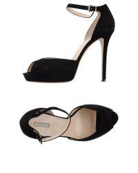 Giorgio Armani - Black Sandals - Lyst