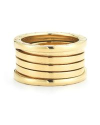 BVLGARI | Multicolor Pre-Owned: Bvlgari B.Zero1 Band Ring In 18Ky | Lyst