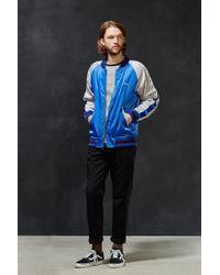 Stussy | Blue Souvenir Tour Jacket for Men | Lyst