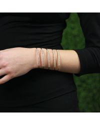 Mattia Cielo - Pink Rugiada Five-circle Wrap Bracelet - Lyst