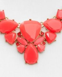 "kate spade new york - Red Color Pop Necklace, 17"" - Lyst"