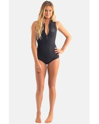 942a93eb56 Rip Curl 'g Bomb' Sleeveless Wetsuit in Black - Lyst