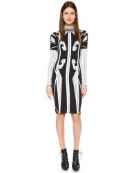 KTZ - White Sweater Dress - Lyst