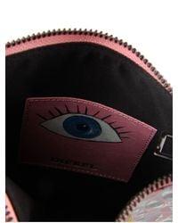 DIESEL | Pink Small Zip Pouch | Lyst