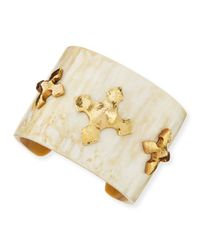 Ashley Pittman - Metallic Tani Cuff - Lyst