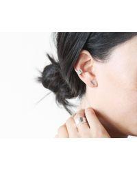 Vrai & Oro | Metallic Minimal Cuff Earring | Lyst