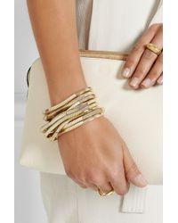 Rosantica - Metallic Schiava Gold-Tone Bracelet - Lyst