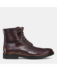 COACH   Brown Bryant Wingboot for Men   Lyst