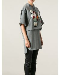 3.1 Phillip Lim - Gray Sweater Dess - Lyst