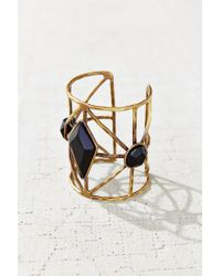 Urban Outfitters | Black Kari Cuff Bracelet | Lyst