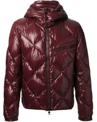 Moncler - Red Newman Jacket for Men - Lyst
