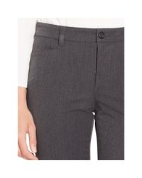 Ralph Lauren | Gray Stretch Twill Straight Pant | Lyst
