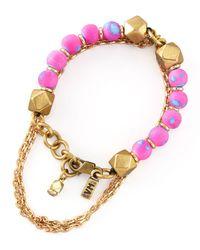 Vanessa Mooney - Pink Dreams May Come Bracelet - Lyst
