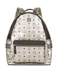 MCM | Black Small 'stark' Backpack | Lyst