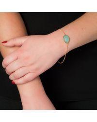 Wendy Mink | Metallic Glass Pendant Bracelet, Peruvian Calcite | Lyst