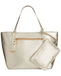 Kenneth Cole | Metallic Dover Street Pebble Tote | Lyst