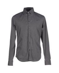 Gas   Gray Shirt for Men   Lyst