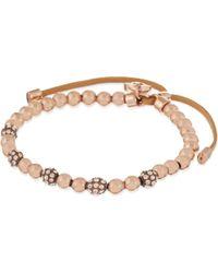 Michael Kors | Pink Bead Cubix Friendship Bracelet | Lyst