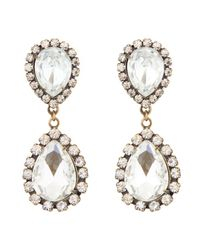 Loren Hope | Multicolor Abba Earrings, Crystal | Lyst