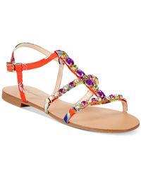 INC International Concepts - Multicolor Women'S Gypsiee Flat Sandals - Lyst
