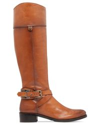 Vince Camuto | Brown Jaran Wide Calf Riding Boots | Lyst