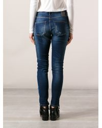2nd Day - Blue Friola Patchwork Boyfriend Jeans - Lyst