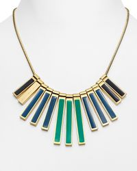Marc By Marc Jacobs - Metallic Stick Bib Necklace 18 - Lyst
