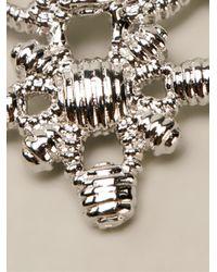 Vivienne Westwood - Metallic 'Isolde' Bracelet - Lyst