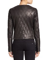 BLK DNM - Black Quilted Leather Jacket - Lyst