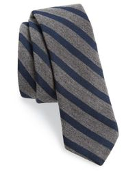 Todd Snyder - Blue Woven Tie for Men - Lyst