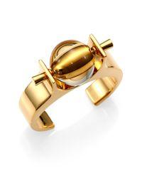 Chloé - Metallic Abby Cuff Bracelet - Lyst