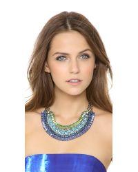 DANNIJO - Green Bea Necklace - Lyst