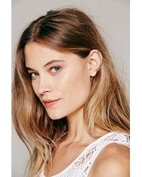 Free People - Metallic Knobbly Womens Minimal Ear Cuff - Lyst