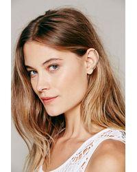Free People | Metallic Knobbly Womens Minimal Ear Cuff | Lyst
