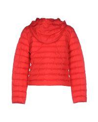 Geospirit - Red Down Jacket - Lyst