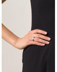 Vivienne Westwood Anglomania | Metallic 'mini Orb' Ring | Lyst
