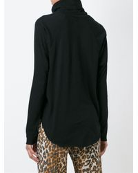 Bliss and Mischief - Black Roll Neck Sweater - Lyst