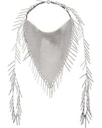Isabel Marant - Metallic Shawl Necklace - Lyst