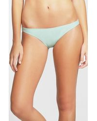 Rip Curl | Blue 'love N Surf' Bikini Bottoms | Lyst