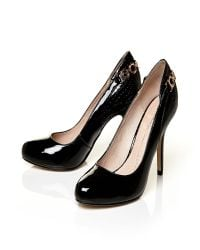 Moda In Pelle | Black Carlino Very High Smart Shoes | Lyst