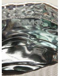 MM6 by Maison Martin Margiela - Metallic Shiny Textured Purse - Lyst
