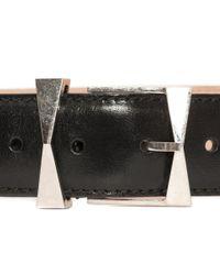 Alexander McQueen - Black Bridle Hip Belt for Men - Lyst